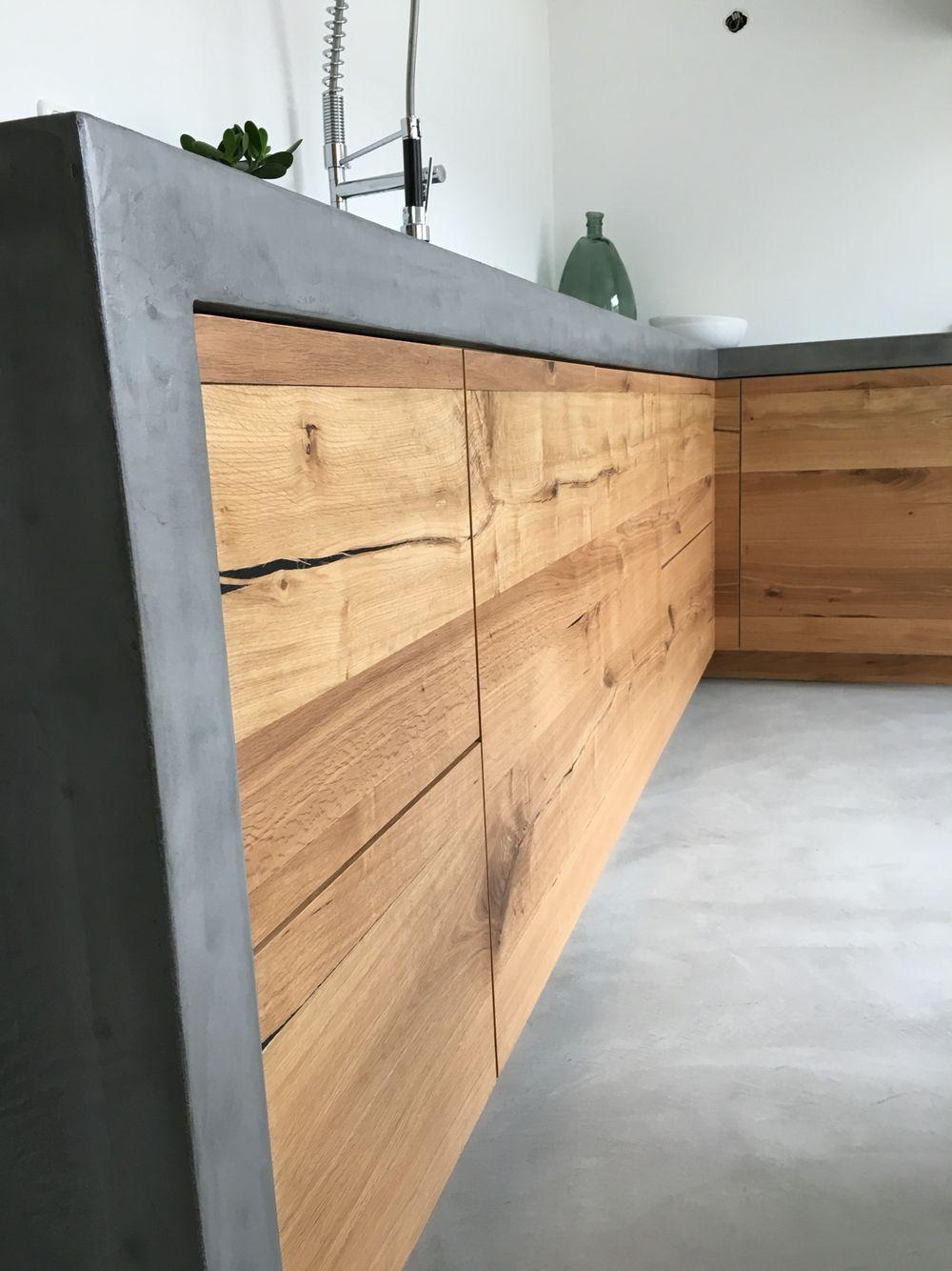Voorkeur Keuken. Beton. Hout. Detail. Stoer. | loft opdracht portfolio &YF84
