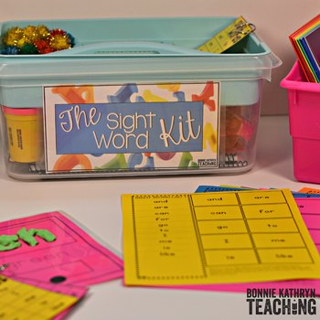 We know that learning sight words will improve a student's overall reading ability. Knowing sight words will also improve a student's confidence. Sight word instruction should not be taught in isolation without literacy instruction. Learning sight words is a successful strategy for