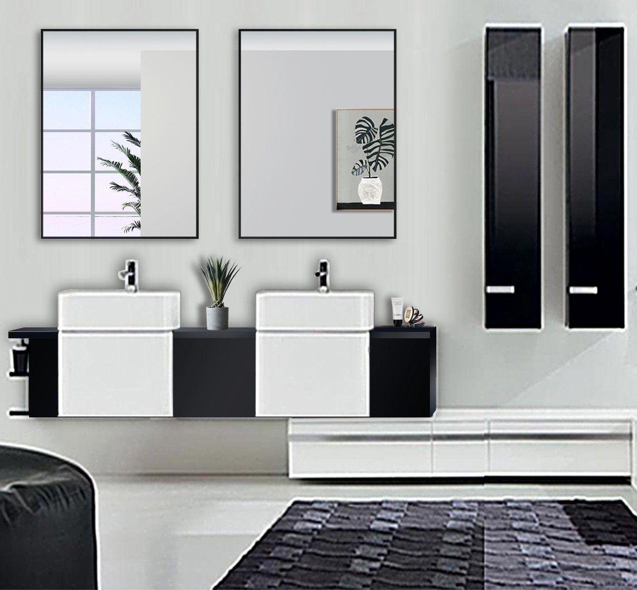 Homeswee Vanity WallMounted Bathroom Mirror Environmental