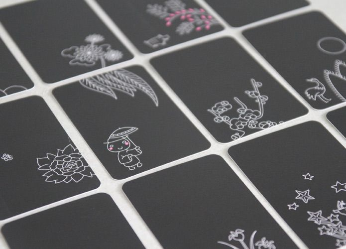 Kissing kourami business cards design graphic design tokyo kissing kourami hanafuda meishi limited series of 12 different design of japanese business cards inspired by the traditional japanese card colourmoves