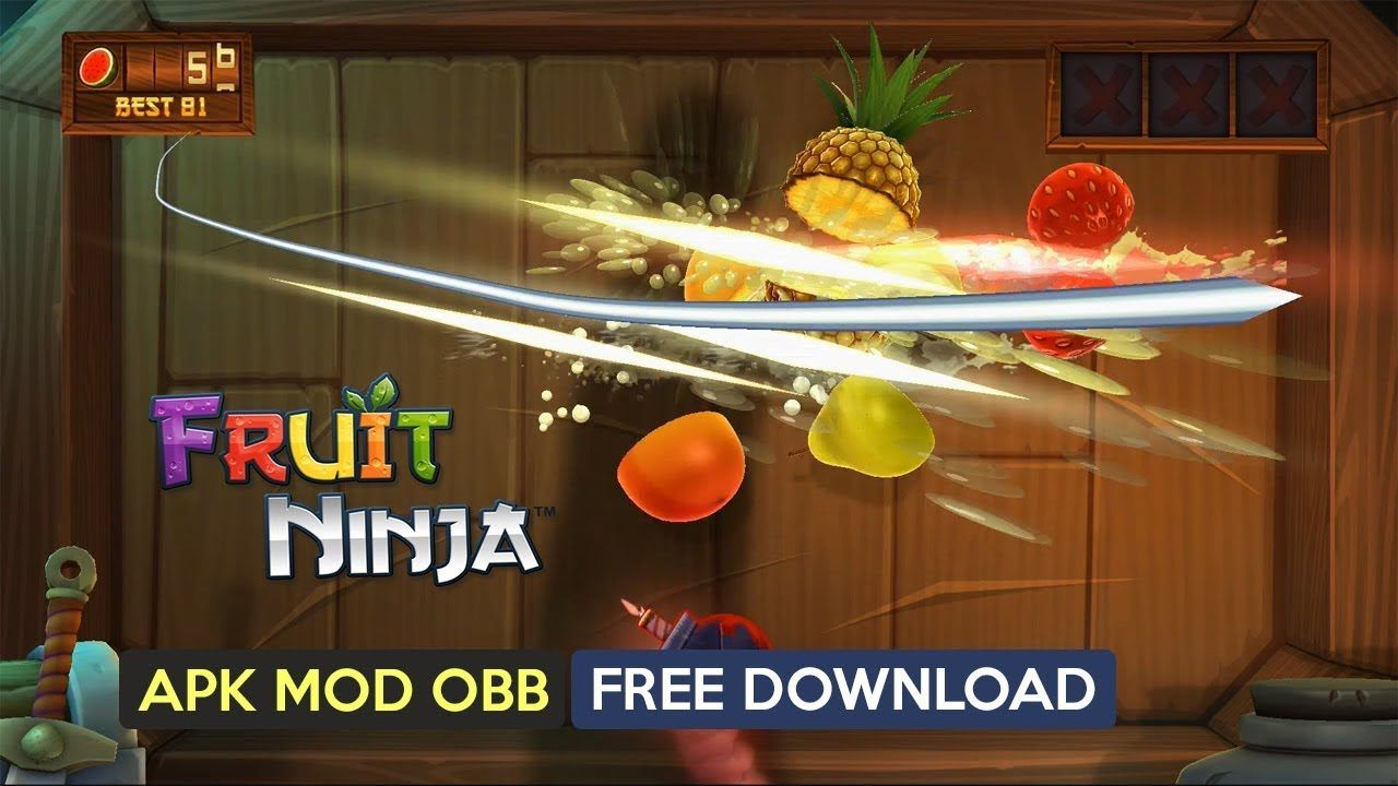 Fruit Ninja Classic Apk Mod OBB for Android free Download