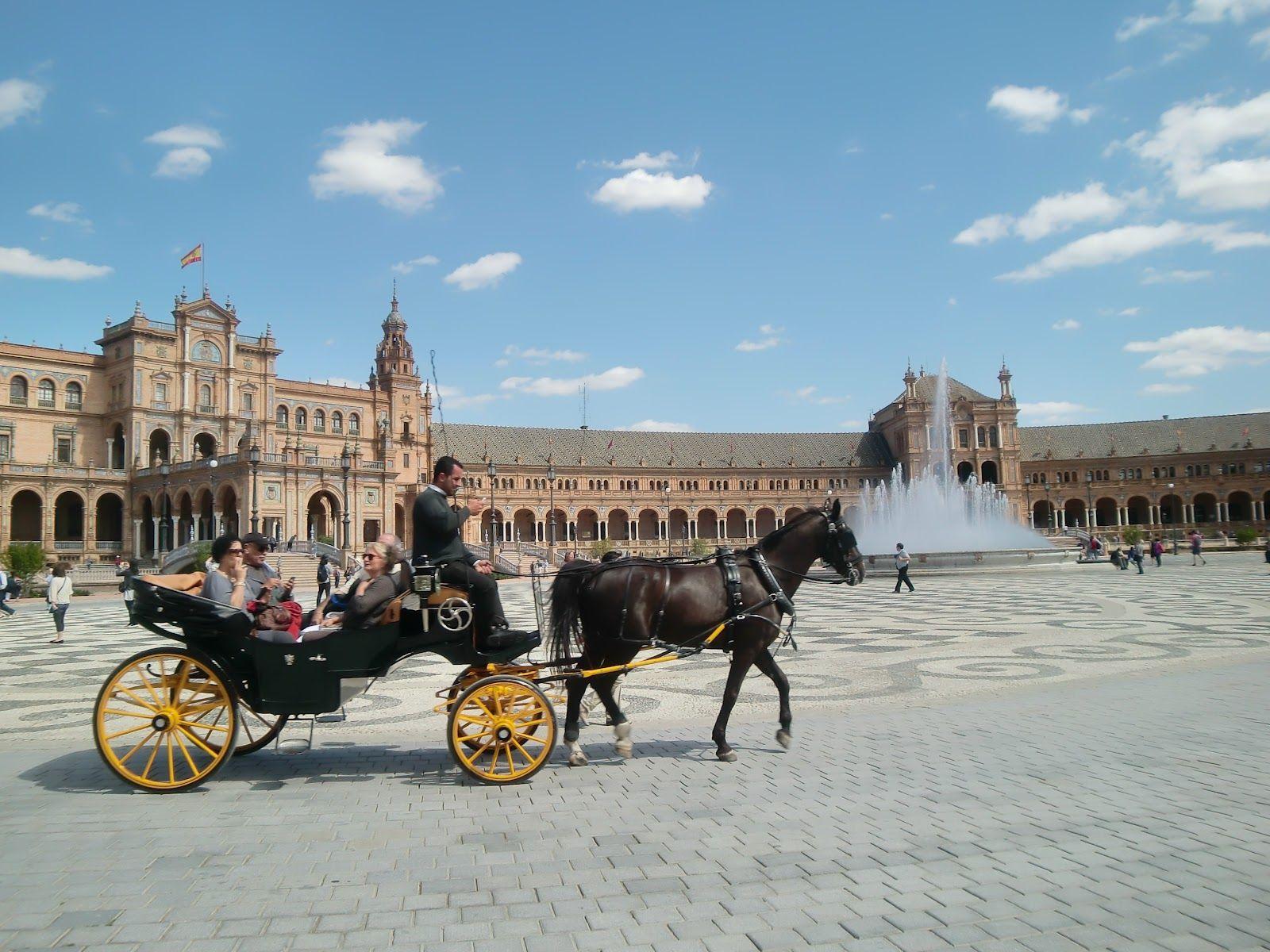 Plaza de Sevilla, España