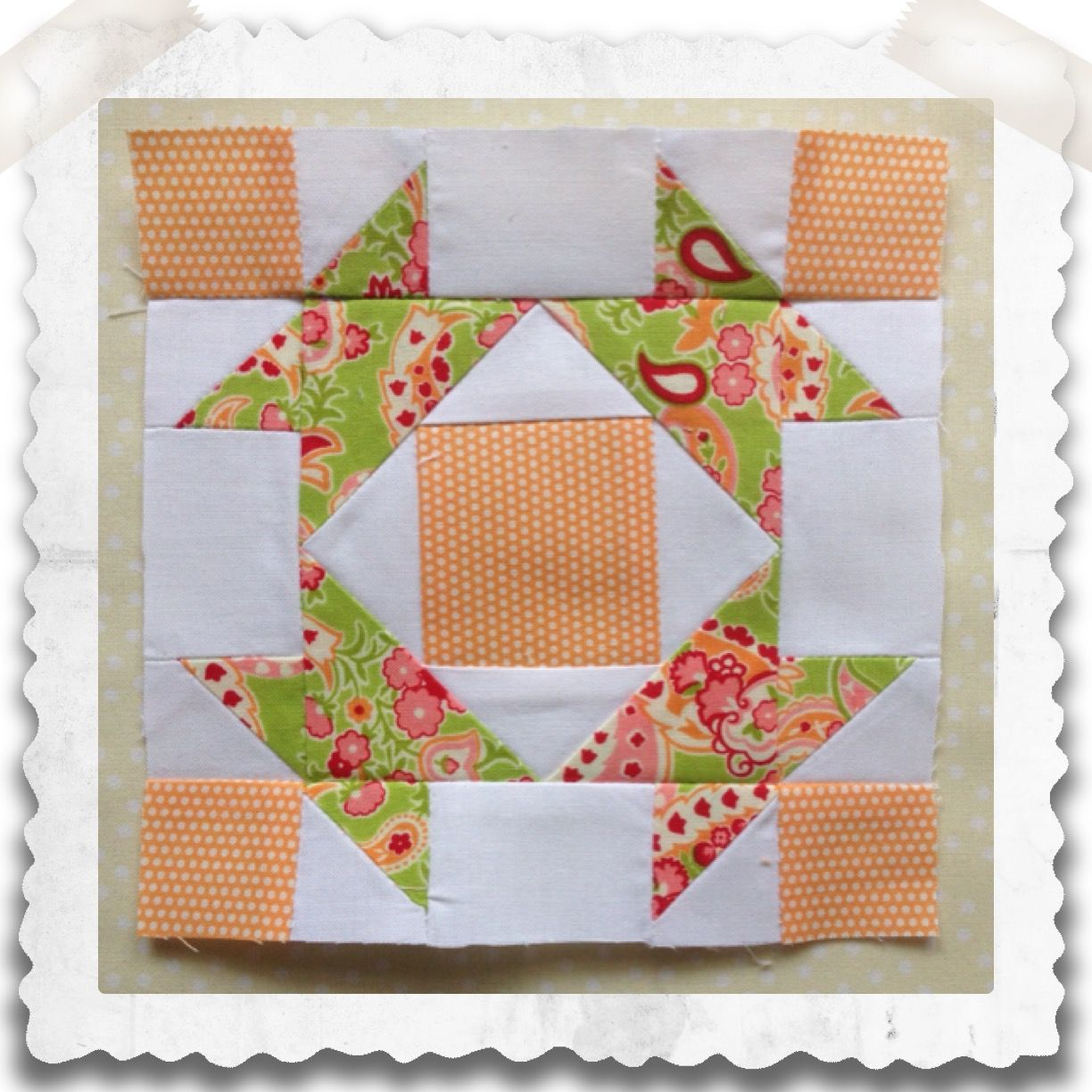 Broken Dishes Block Free Pattern | Chatelaine Sampler Quilt by ... : sampler quilt blocks free - Adamdwight.com