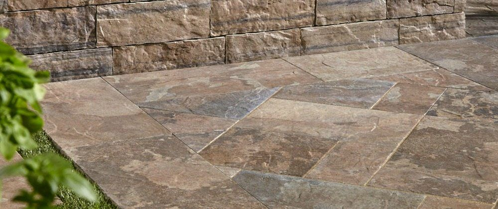 The Benefits Of Using Provence Slabs Enhanced With Satura Technology Patio Stones Concrete Pavers Paver Patio