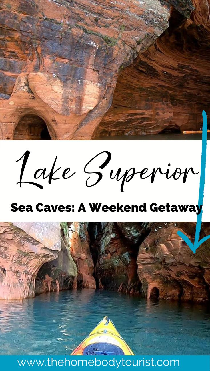 Kayaking the Lake Superior Sea Caves Kayaking the Lake