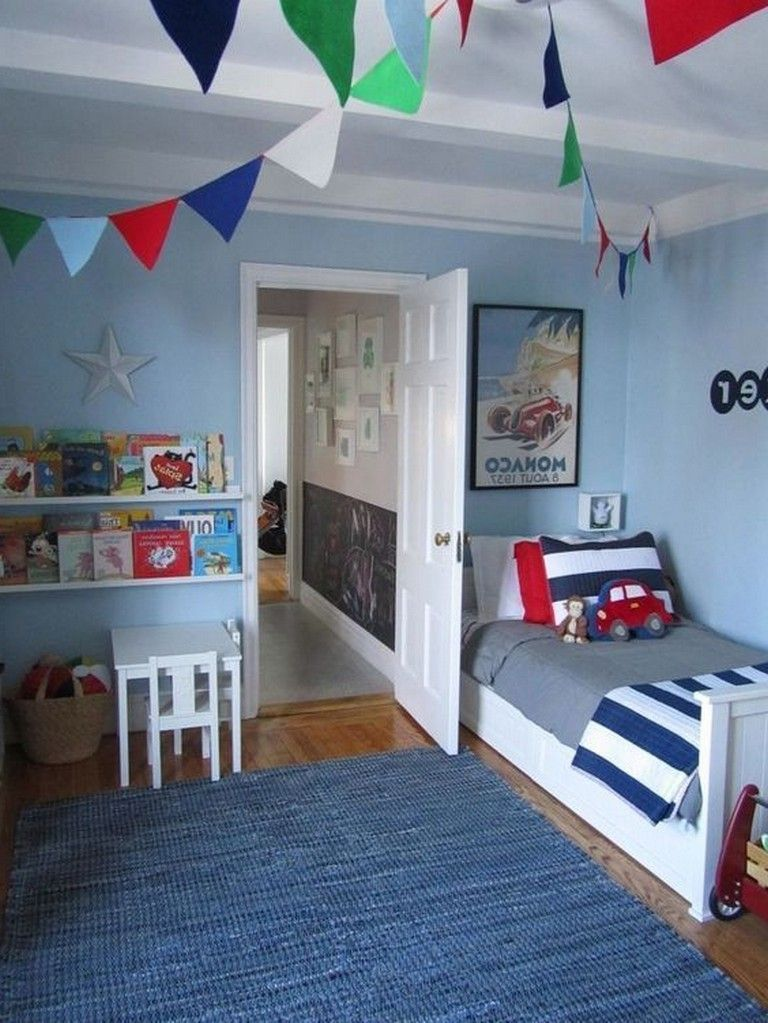 27 Small Bedroom Ideas Design Minimalist And Simple Big Boy Bedrooms Boy Toddler Bedroom Toddler Rooms