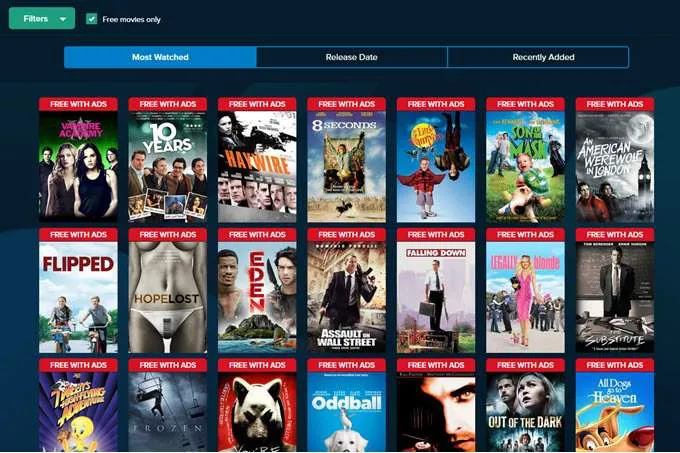 5 Best Websites for Streaming Free and Legal Movies in