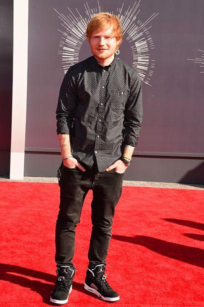 Ed Sheeran at the MTV Video Music Awards