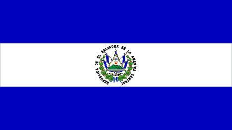 La Bandera Salvadorena Bandera De El Salvador Banderas