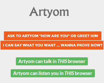 Artyom js – Voice Recognition with Javascript #speech