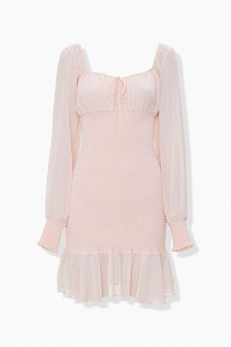 Clip Dot Peasant Dress Forever 21 Peasant Dress Fashion Seasonal Fashion [ 1125 x 750 Pixel ]