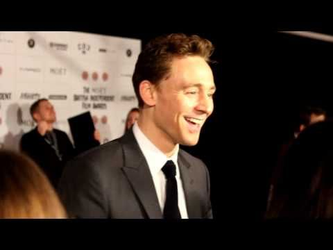 An interview with actor and BIFA Jury Member Tom Hiddleston at the 2012 British Independent Film Awards