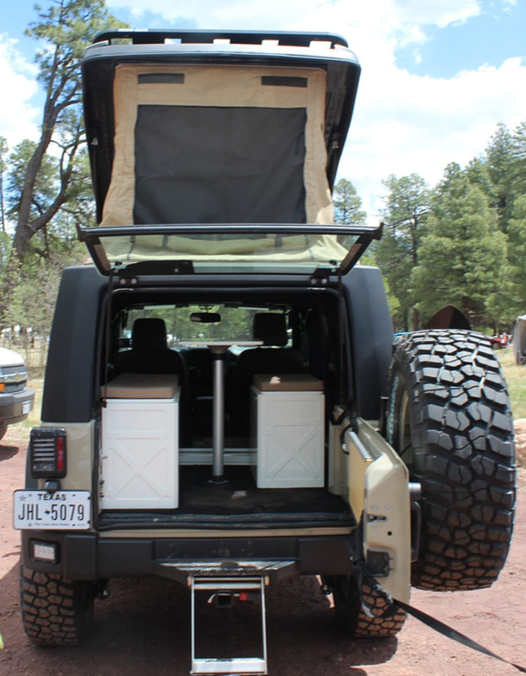 Jeep Wrangler becomes the ultimate pop-up adventure camper with new