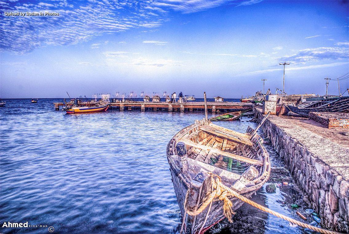 Al Sigala Port Sudan السقالة بورتسودان السودان By Ahmed Elno Man Sudan Portsudan Sigala Redsea Boats Photo Red Sea Sudan