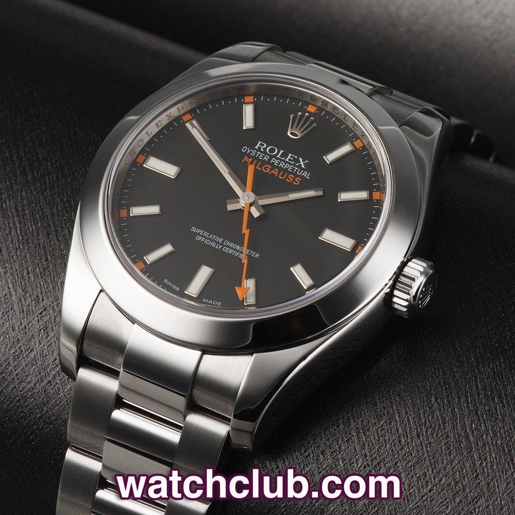Rolex Milgauss Black Dial