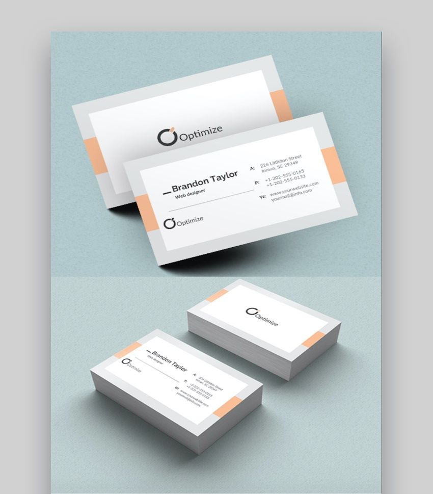 20 Double Sided Vertical Business Card Templates Word Or In 2 Sided Bus Vertical Business Card Template Vertical Business Cards Double Sided Business Cards