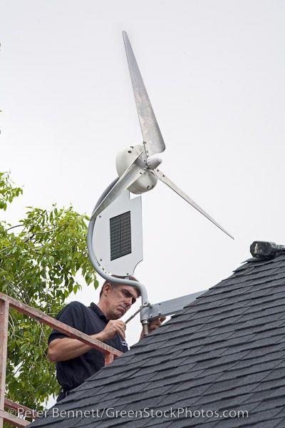 Installing a wind turbine | Barn | Wind turbine, Diy generator