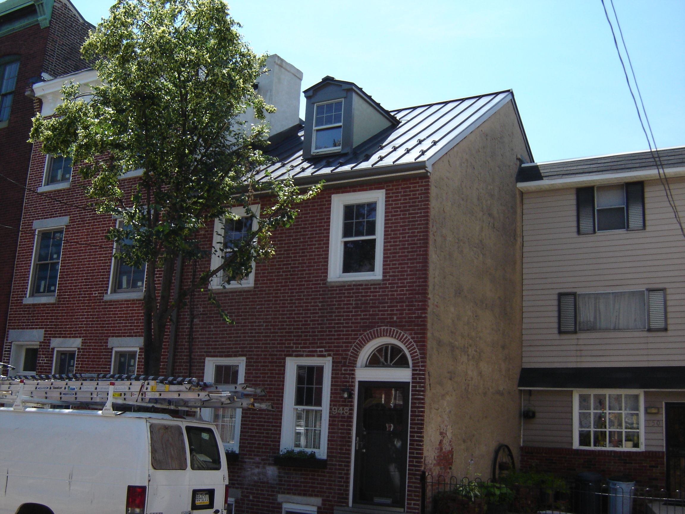 Drexel Metals Charcoal Gray Metal Roof City Of