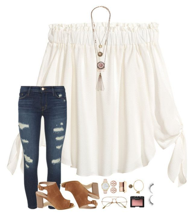 Back To School Hairstyles   harry's new album  by beingrach ❤ liked on Polyvore featuring H&M, J Bran    is part of Cute outfits - [ Back To School Hairstyles  harry's new album  by beingrach ❤ liked on Polyvore featuring H&M, J Brand, Hollister Co , Kate Spade, Tory Burch,