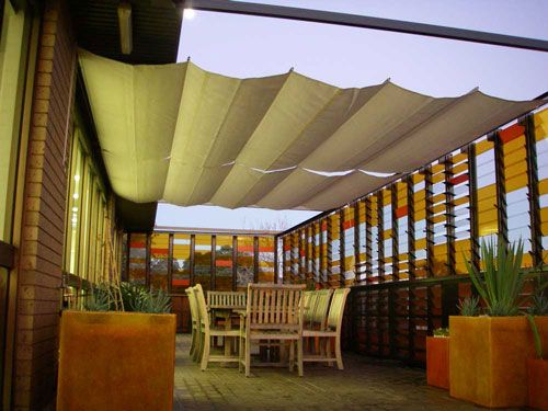 Outdoor Deck Awnings