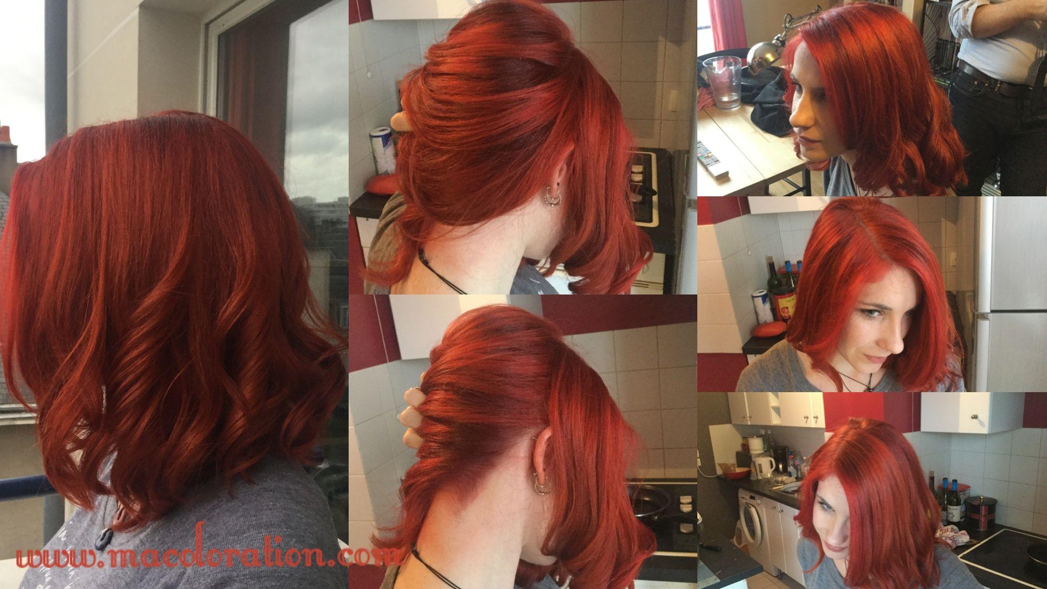 Vermillion Red Et Flame Directions By La Riche Fait Par