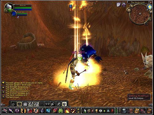 Screen Shot Of Me Reaching Level 60 In World Of Warcraft Finally Got