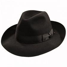 be531dd520a Borsalino Ernesto - Beaver Fur Felt Hat - Black
