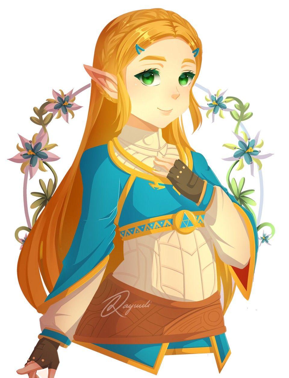 Legend Of Zelda Breath Of The Wild Art Princess Zelda Botw By Kay Uuli On Artstation Botw Zelda Legend Of Zelda Breath Legend Of Zelda