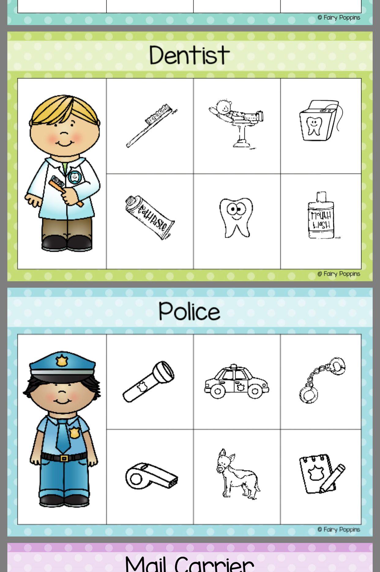 Pin By Laurie Goodheart On Preschool Community Helpers