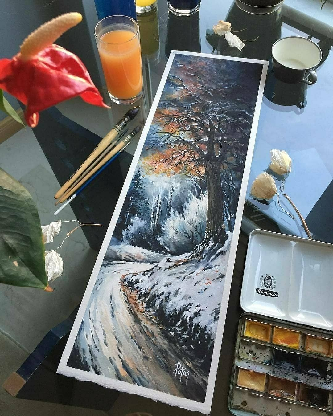 How To Remove The White Background From A Watercolor Image Learn
