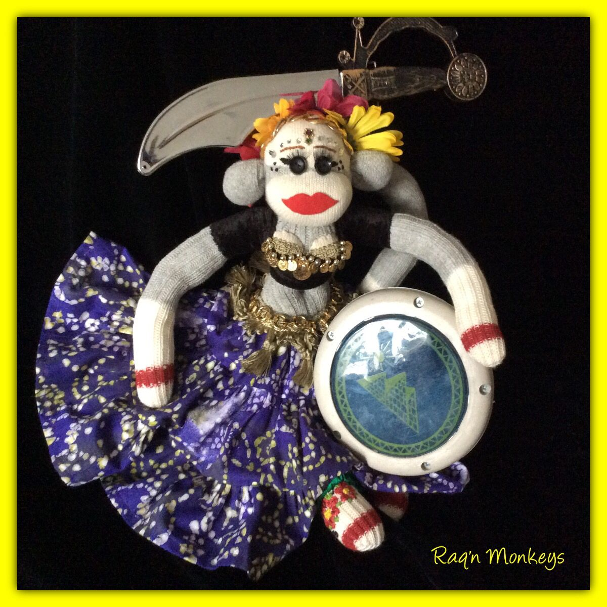 "Tribal Bellydance ""Brandi"" - created by Raq'n Monkeys Oct 2015  https://www.facebook.com/raqn.monkeys/"