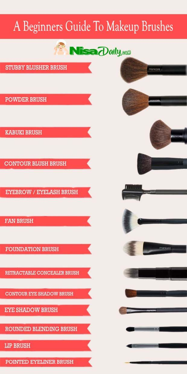 Photo of A Beginners Guide To Makeup Brushes ★★★★★ 414