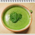 Odľahčovacia tekvicovo-špenátová polievka
