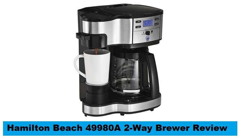 Hamilton Beach Coffee Maker 49980a Reviews In 2020 With Images
