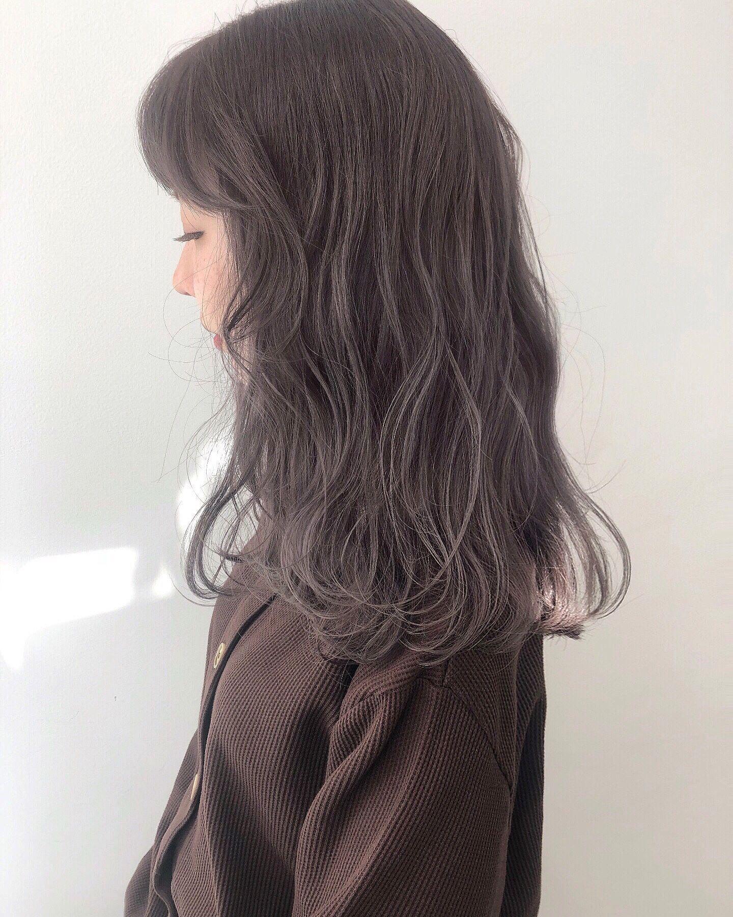 暗めでも透明感抜群なラベンダーアッシュ Alive Kichijoji 西村なる美