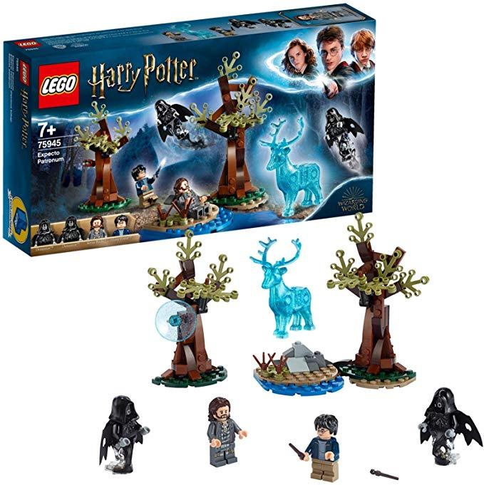 Lego Harry Potter Expecto Patronum Set De Construccion Para Recrear Magicas Aventuras Incluye Minif Lego Harry Potter Harry Potter Juguetes De Harry Potter