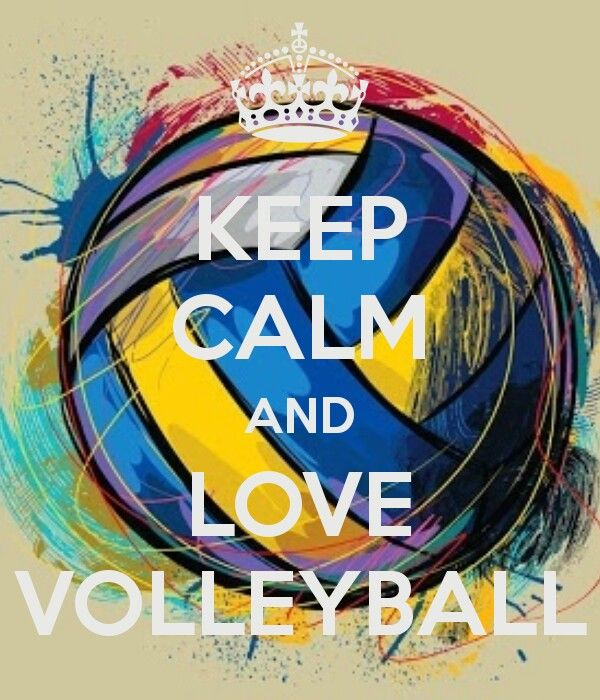 Keep Calm And Love Volleyball Volleyball Wallpaper Volleyball Players Volleyball