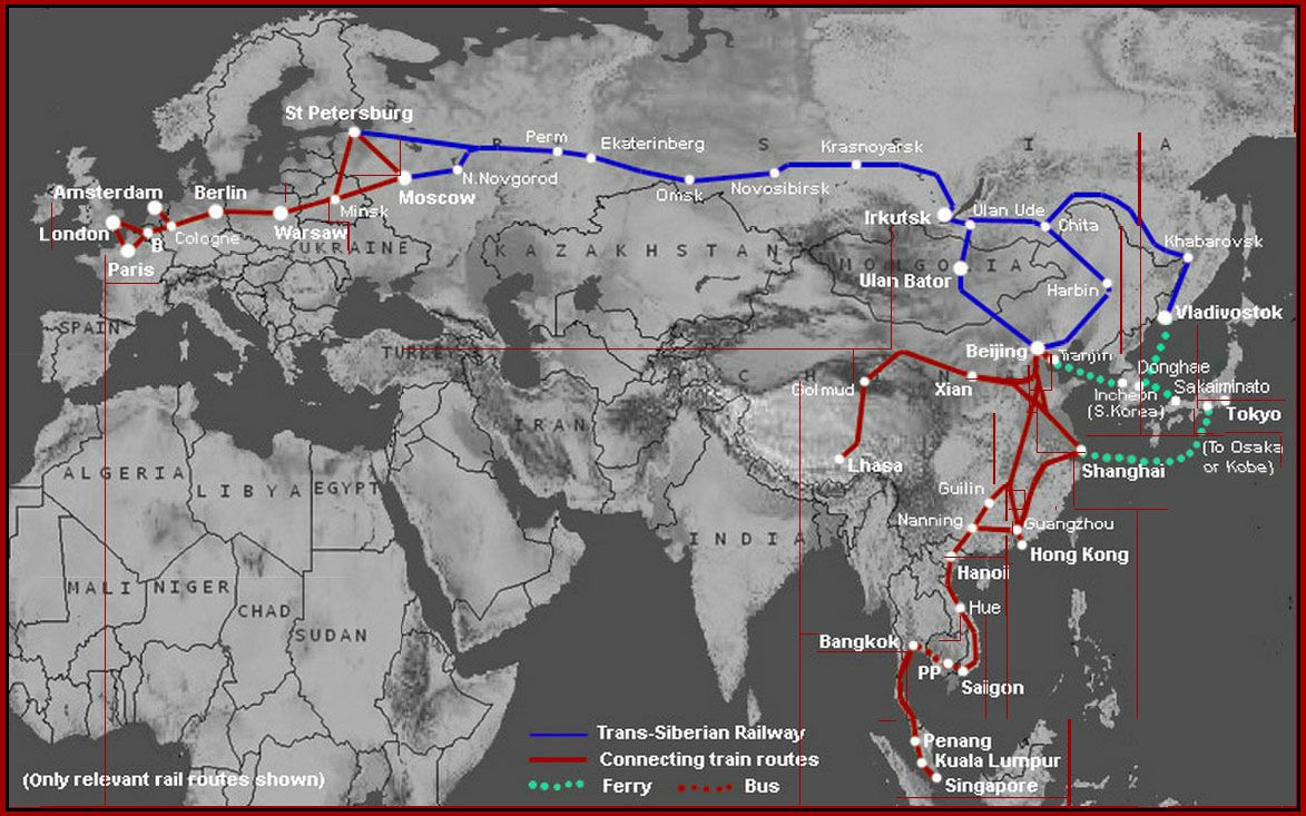 How To Plan Book A Journey On The Trans Siberian Railway Trans Siberian Railway Trans Siberian Train Route
