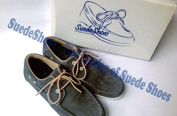 Tampil Casual Dengan Sepatu Suede Shoes Ada Pilihan Warna Yang
