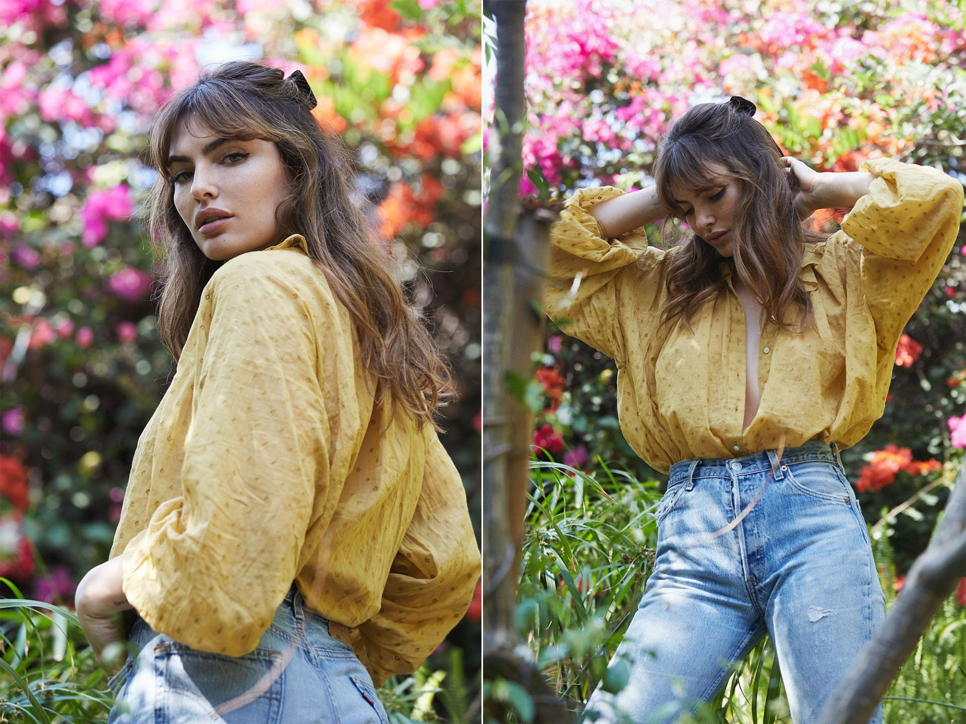 Photo of Sweet Muse Alyssa Miller in her City Farm