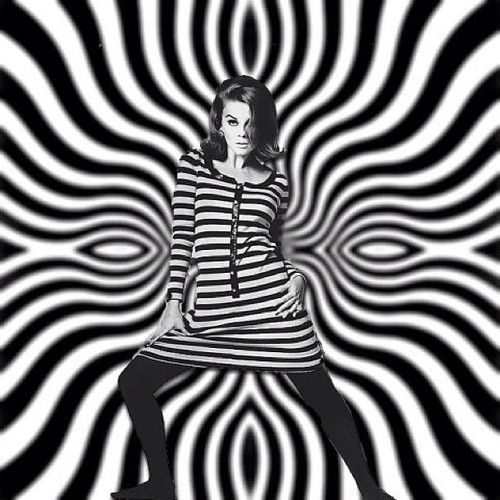 op art fashion: also known as optical art, is a style of visual art that makes use of optical illusions.