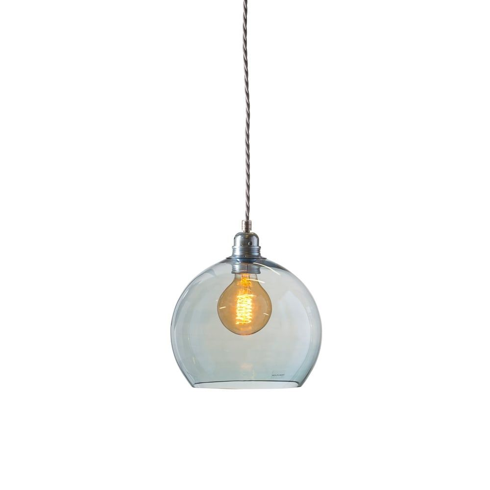 ceiling lighting kitchen contemporary pinterest lamps transparent. Copenhagen Glass Collection ROWAN Small Transparent Topaz Blue Ceiling Pendant Light Lighting Kitchen Contemporary Pinterest Lamps