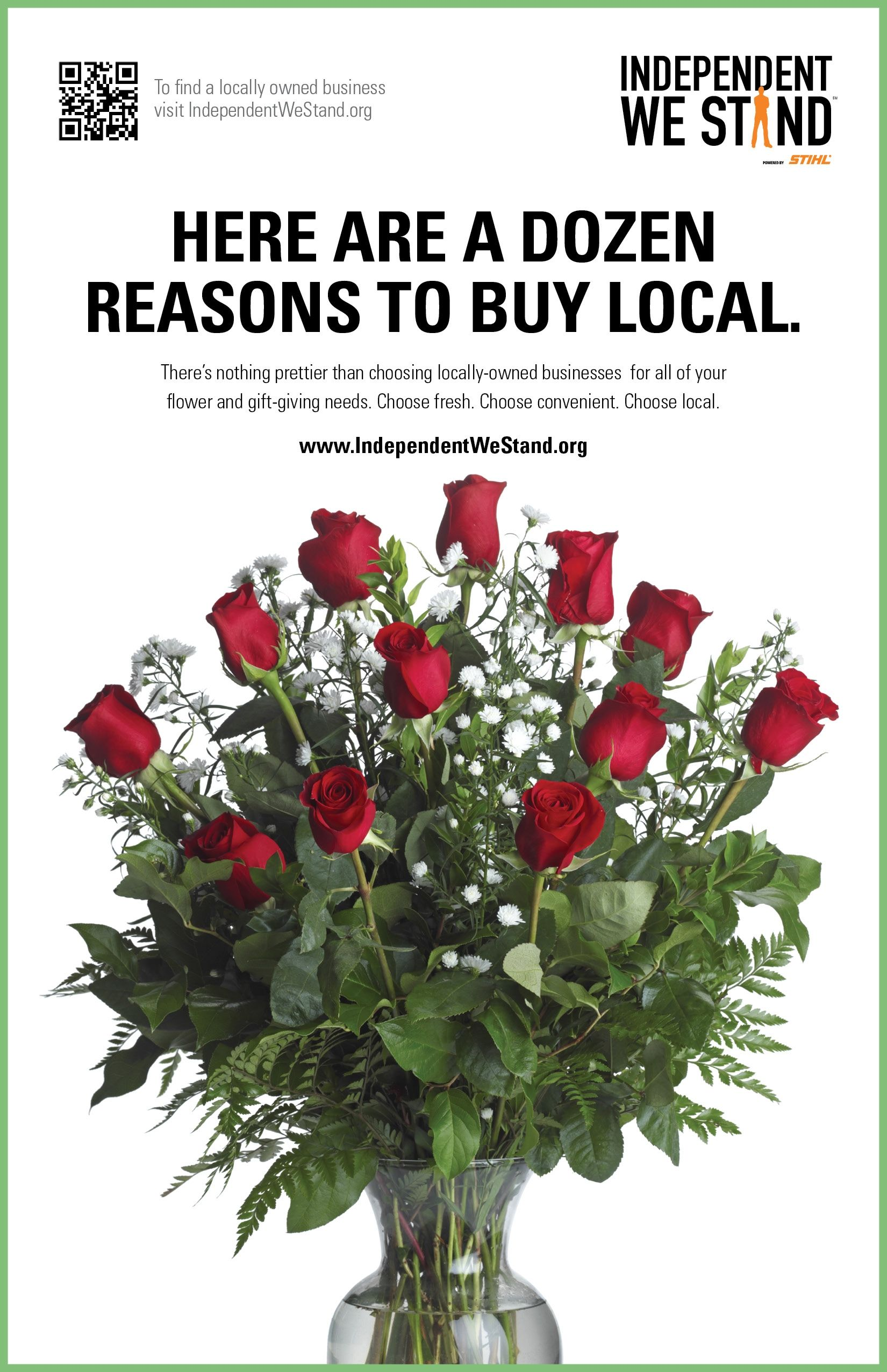buy your valentines day gifts and flowers at a local business like occasions we don