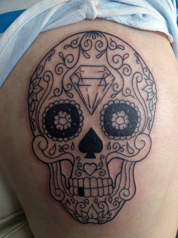 Tatouage Tete De Mort Mexicaine Signification Tendances Idee