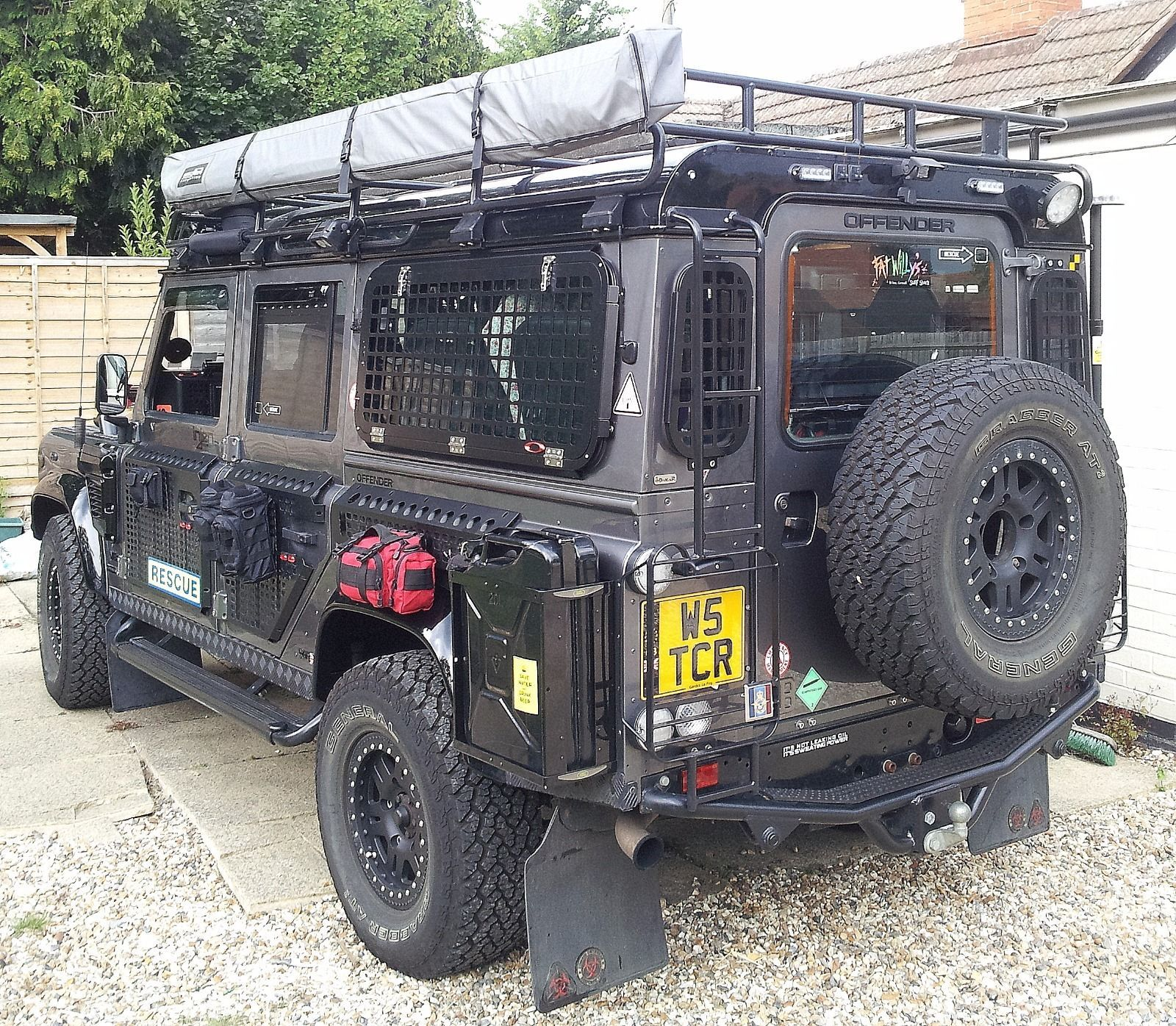 Details About Land Rover Defender 110 Td5 Custom Built