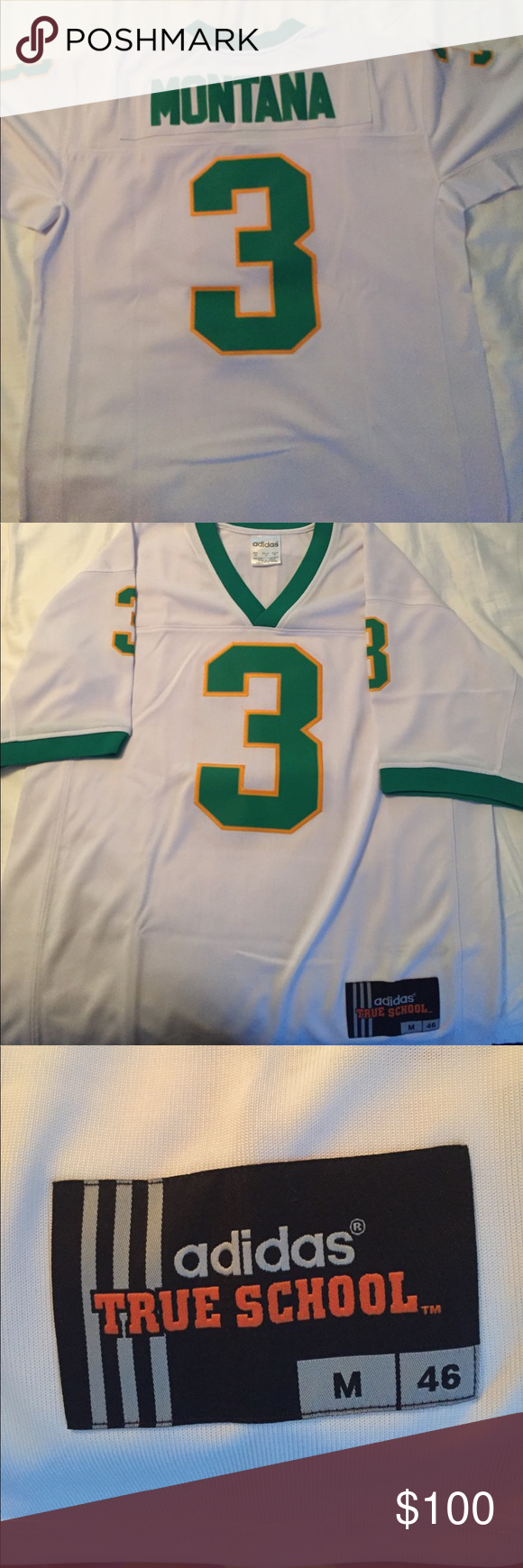 half off 130a6 025f6 Joe Montana Notre Dame football jersey M Excellent condition ...