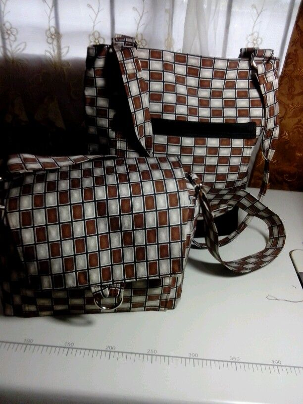 MATCHIN tote and lunch bag...