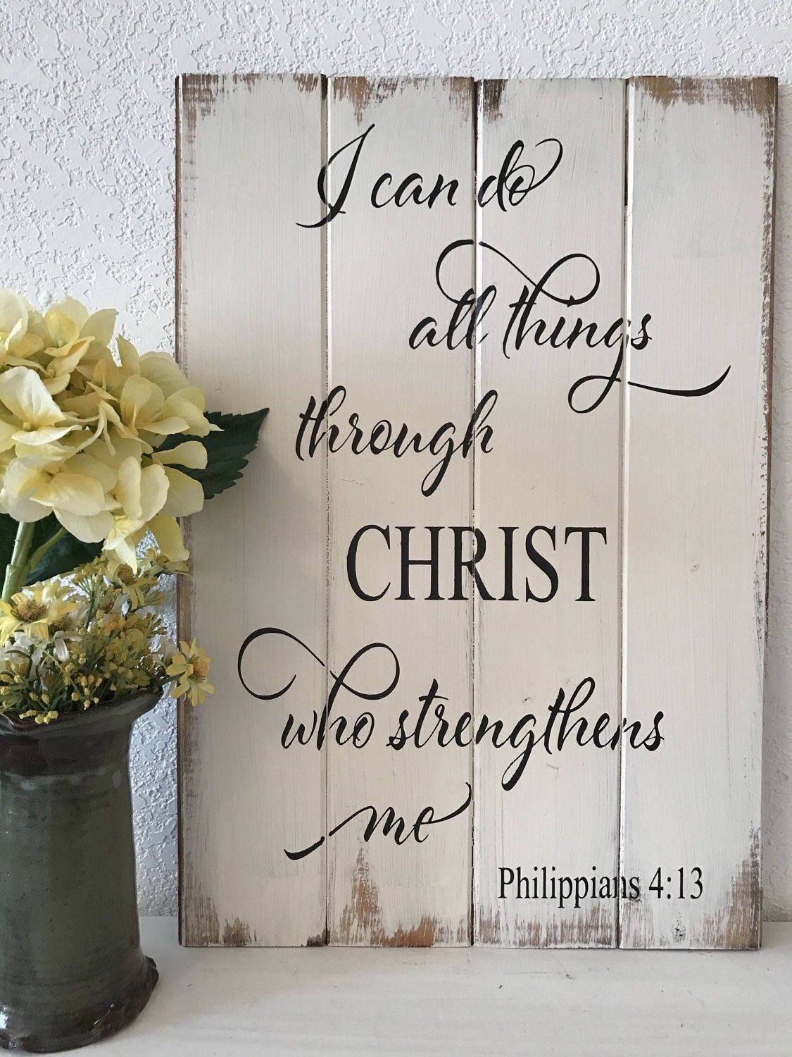 I Can Do All Things Through Christ Who Strengthens Me Scripture