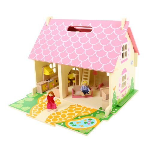 Every Girl Wants A Dollhouse, So Make Her Dreams Come True With Our  Heritage Playset Blossom Cottage. Featuring Fully Furnished Rooms, Figures  And Built In ...