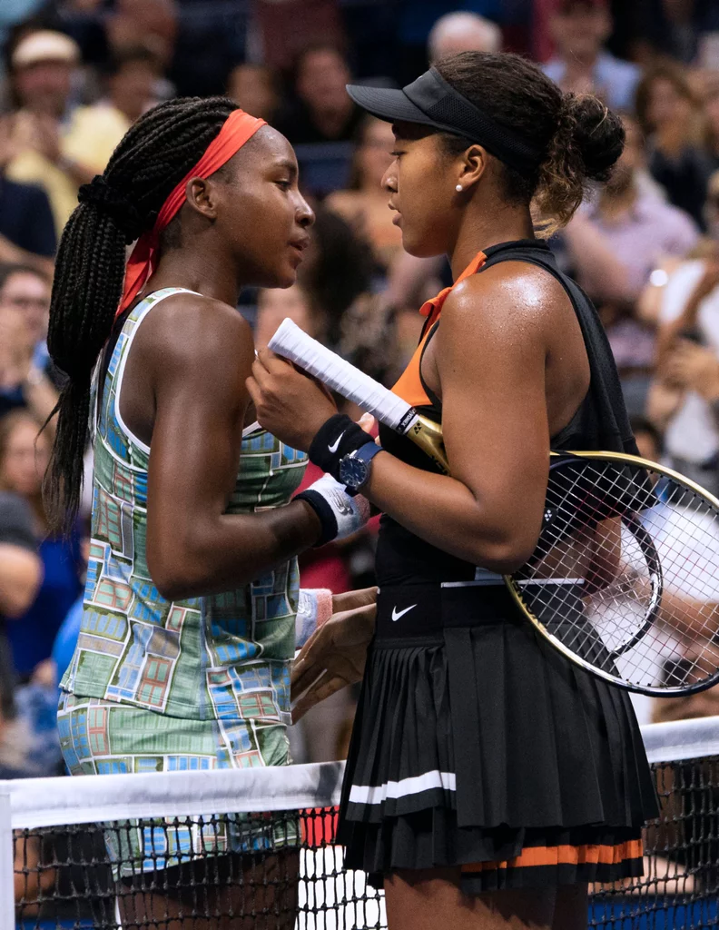 Naomi Osaka and Coco Gauff Taught a Lesson in Supportive